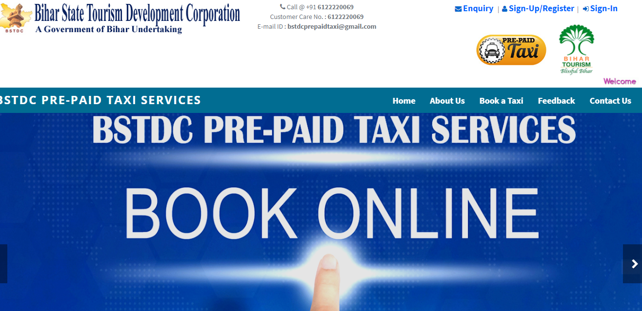 BSTDC PRE-PAIDTAXI BOOKING SERVICES